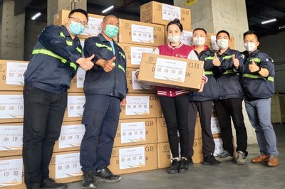 Swift support for India – Fosun's additional aid of 100,000 KN95 masks arrived in Mumbai